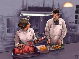 Killer kitchen by Jasper-M