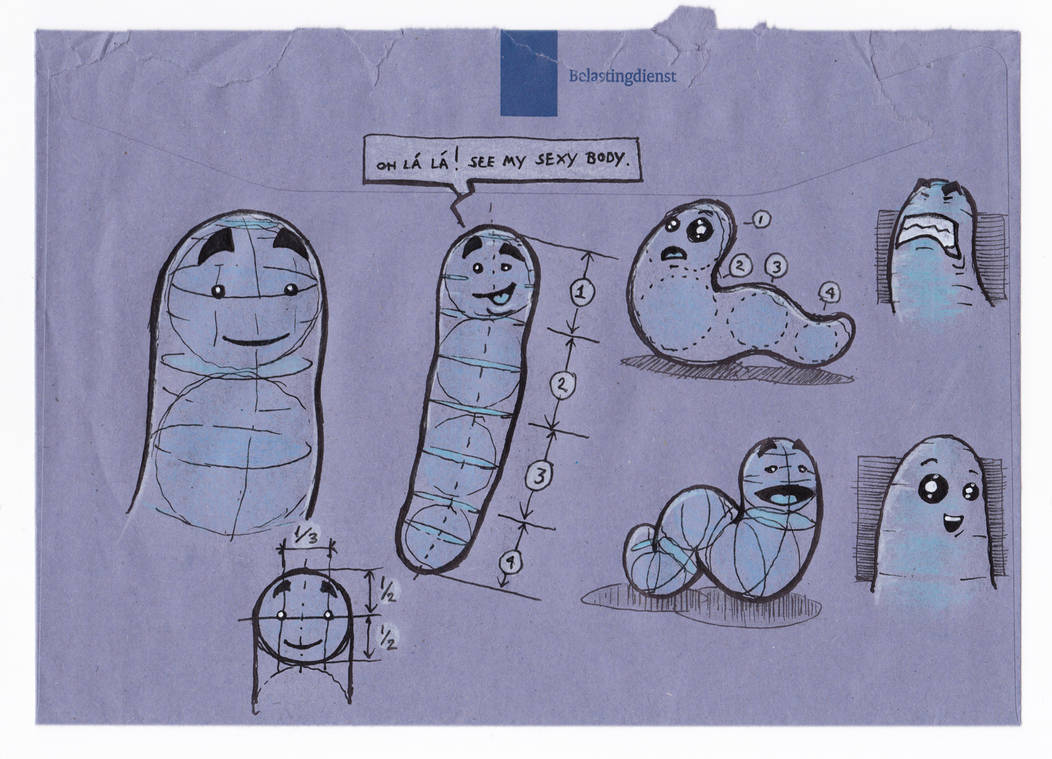 Anatomy of a worm by Jasper-M