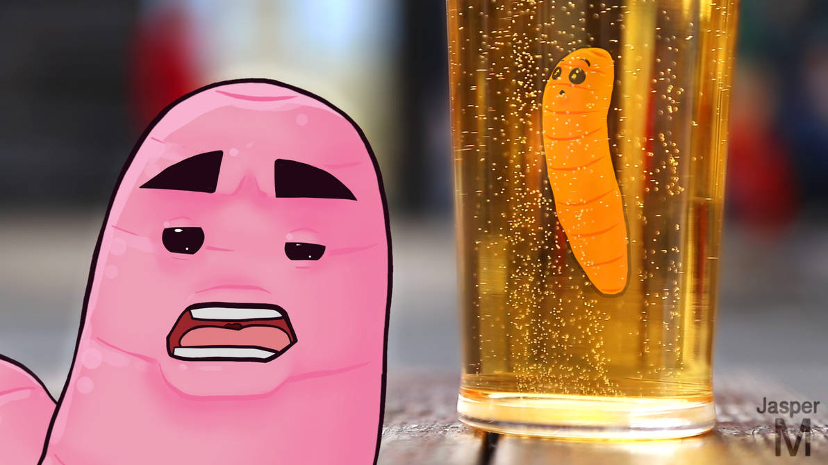 Beer worms by Jasper-M