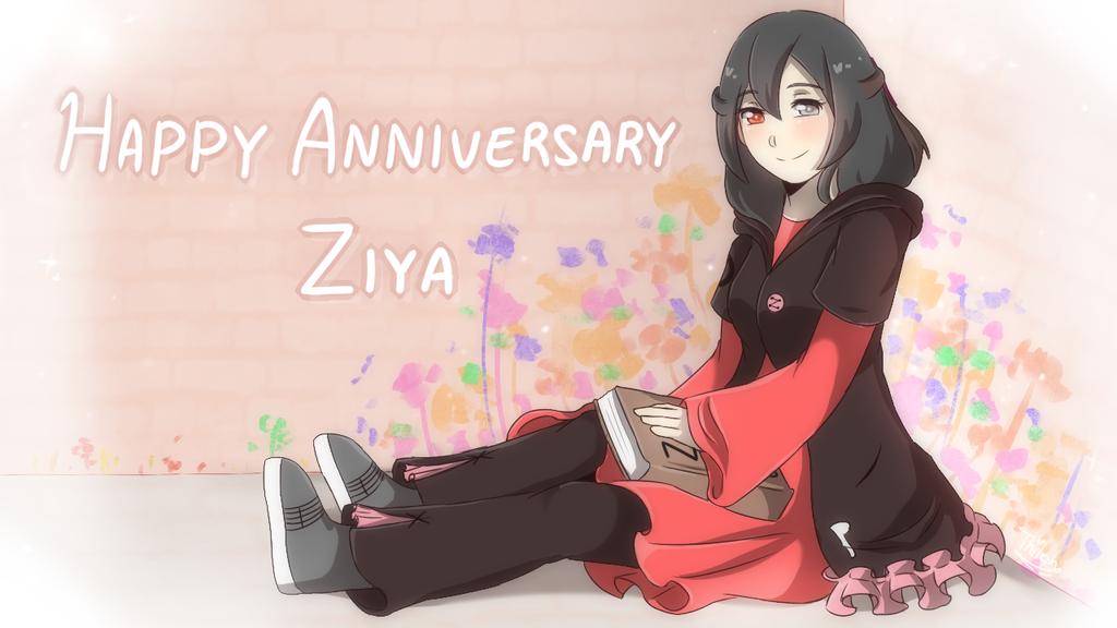 UTAU - Happy 5th Anniversary Ziya by AthilahThePun