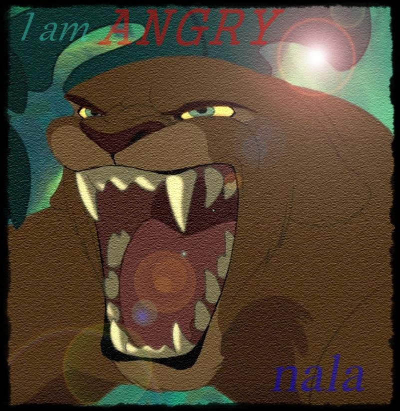 La Historia de Kovu  (Fan-Fiction) - Página 4 Angry_nala_avatar_by_miniazilix-d7ixtof
