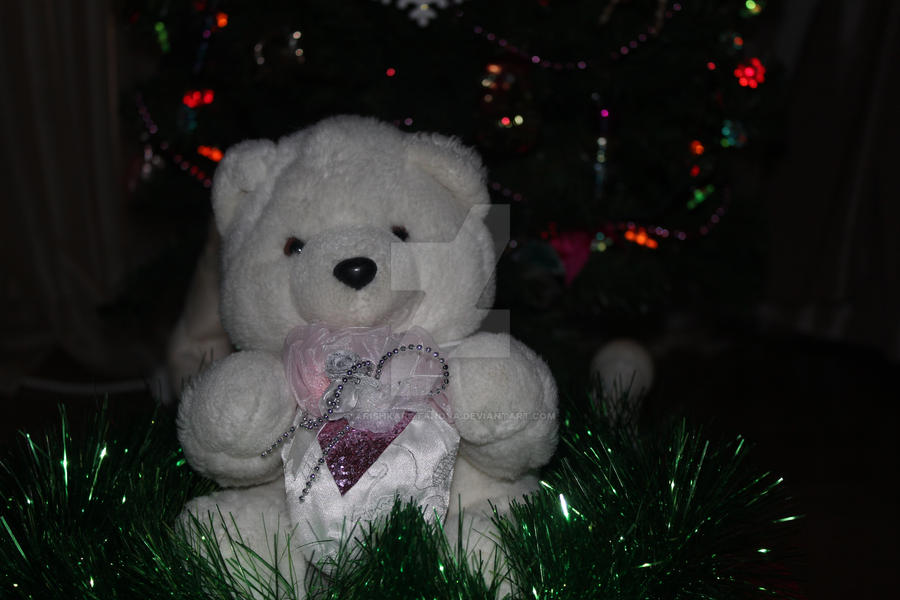 My Teddy Bear with presents. by ArishkaRotanova
