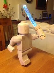 Wooden lego Jedi 2 by Ragskin