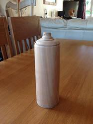 Wooden spray can by Ragskin