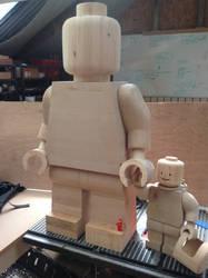 Daddy Lego by Ragskin