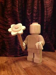 Wooden lego valentine by Ragskin