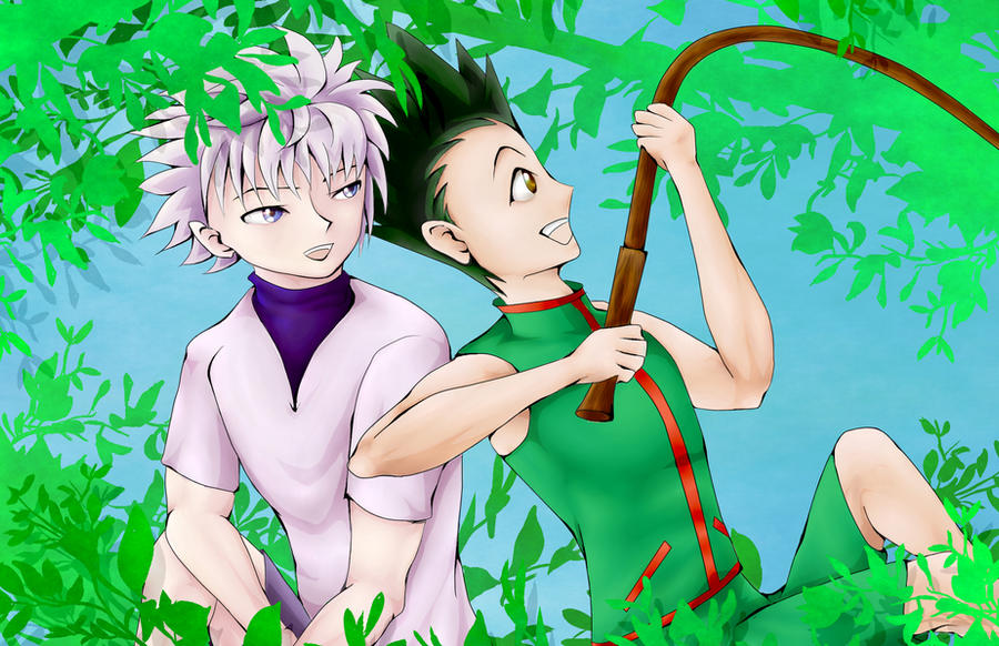 Gon And Killua by AMu23M1