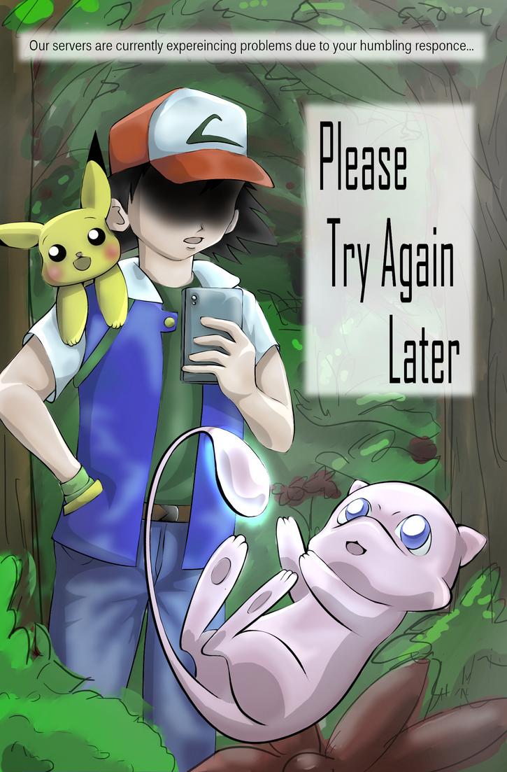 The Struggle of Pokemon Go by AMu23M1