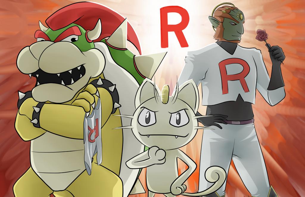 Team Rocket Smash by AMu23M1
