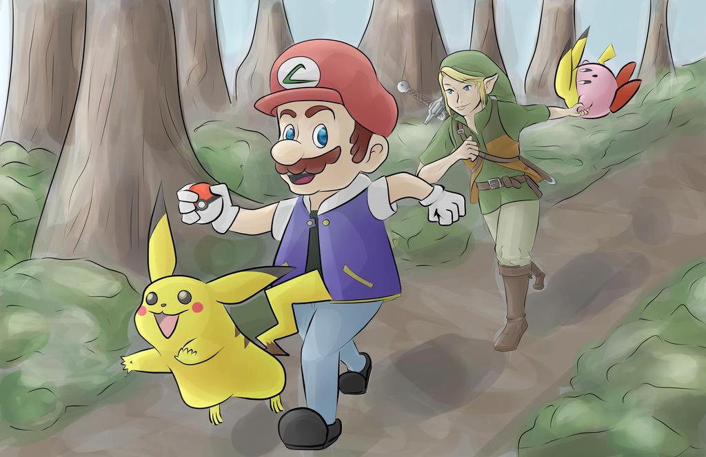 Super Pokemon of Hyrule by AMu23M1