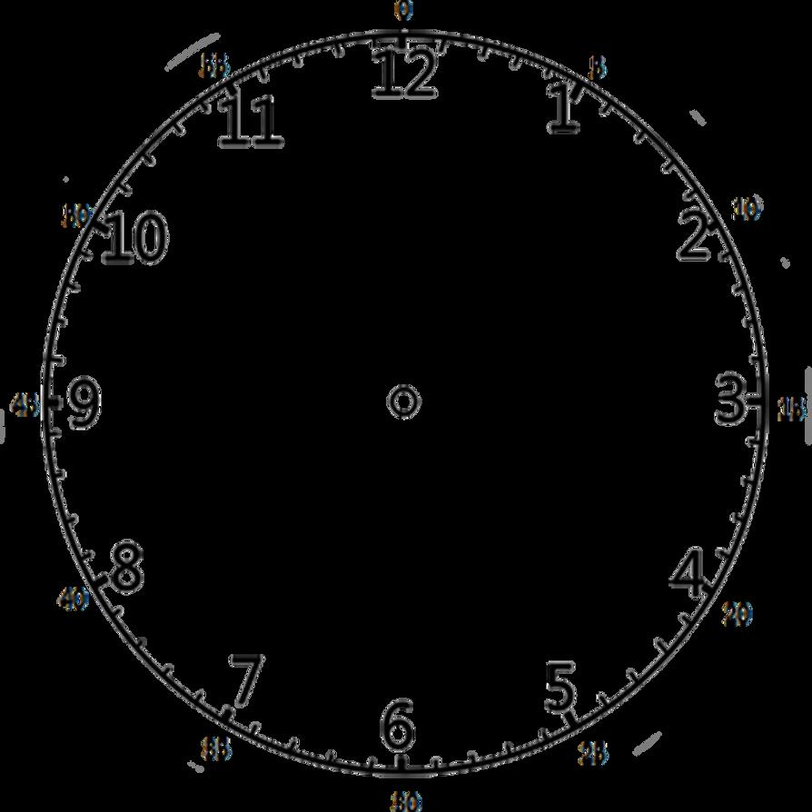 worksheet Empty Clock Faces clock face 12 by stephenjohnsmith on deviantart stephenjohnsmith