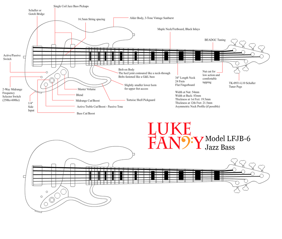 LFJB-6 Jazz Bass Concept Diagram by MAJORA64 on DeviantArt