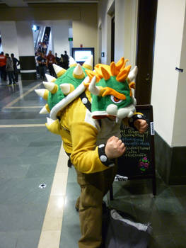 PAX East: Bowser Cosplayer