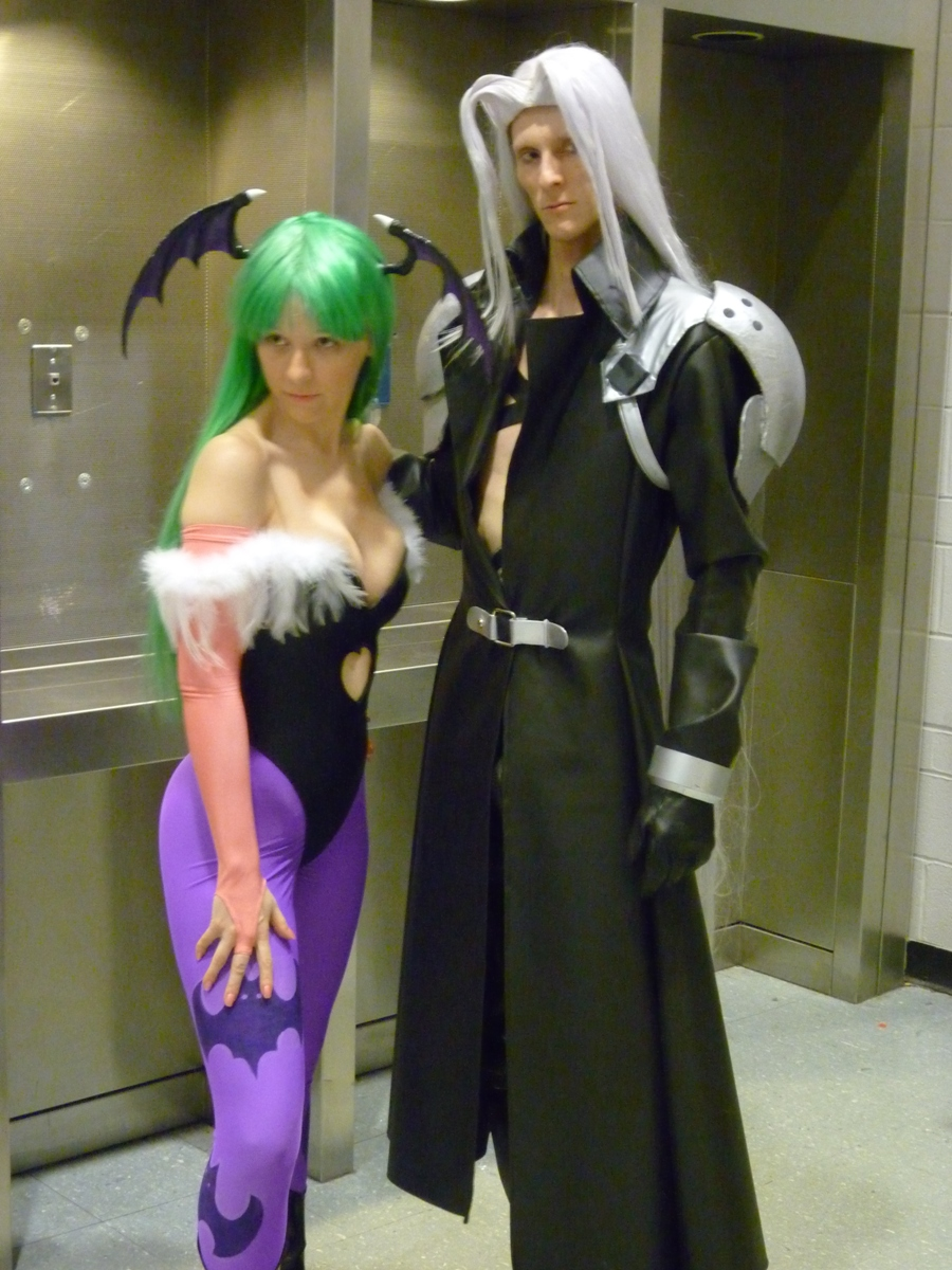 PAX East: Sephiroth+Morrigan by Sane-Intolerant
