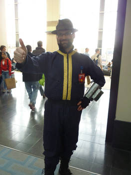 PAX East: Vault 101 cosplayer