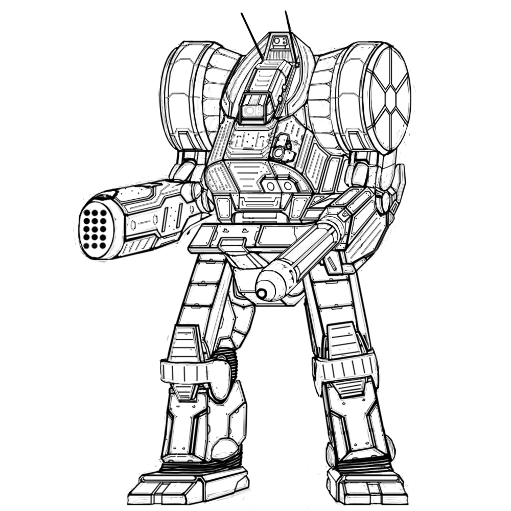 Real Steel Zeus Coloring Pages
