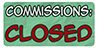 Commissions Closed Stamp by Spirit--Productions