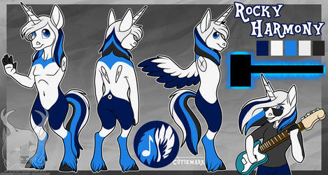 [C] Rocky Harmony Reference Sheet by Spirit--Productions