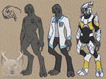 Halo Elite Sketches by Spirit--Productions
