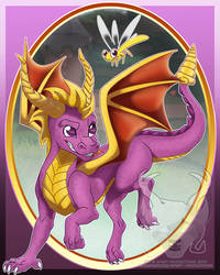 Spyro Poster/Print by Spirit--Productions