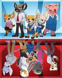 Aggretsuko Season 2 by Spirit--Productions