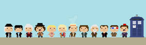 The Day of the Doctor in 8-Bit!