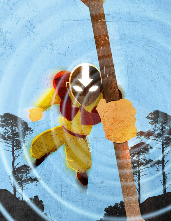 Aang by hilarion