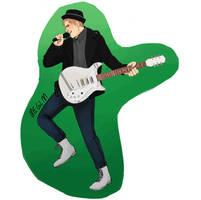Patrick Stump Sticker by Meglm5291