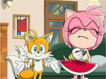 Tails and Amy