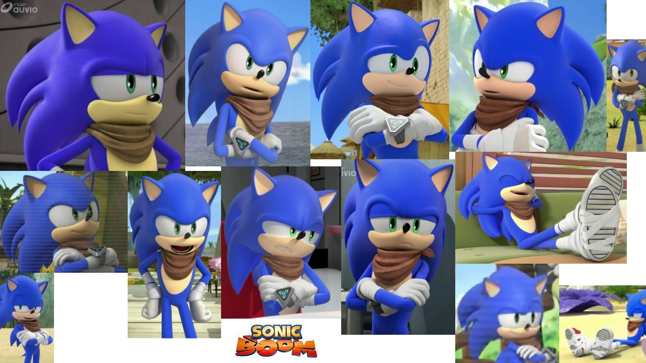 Sonic Boom Sonic The Hedgehog Collage By Sonicboomfan101 On Deviantart