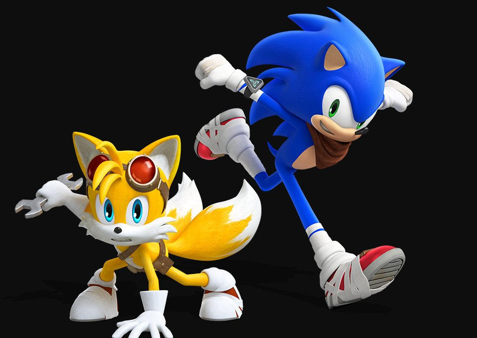 Sonic The Hedgehog And Tails The Fox New Render By Sonicboomfan101 On Deviantart