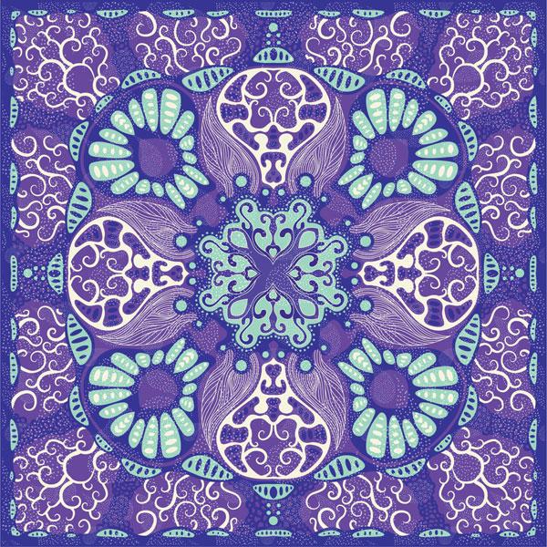 ovucamov: silk scarf designs