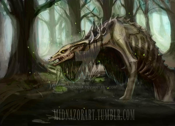 Swamp Creature by midnazora
