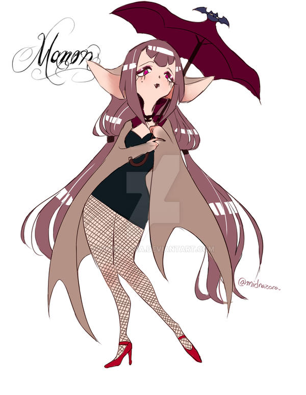 Manon the Vampire Bat by midnazora