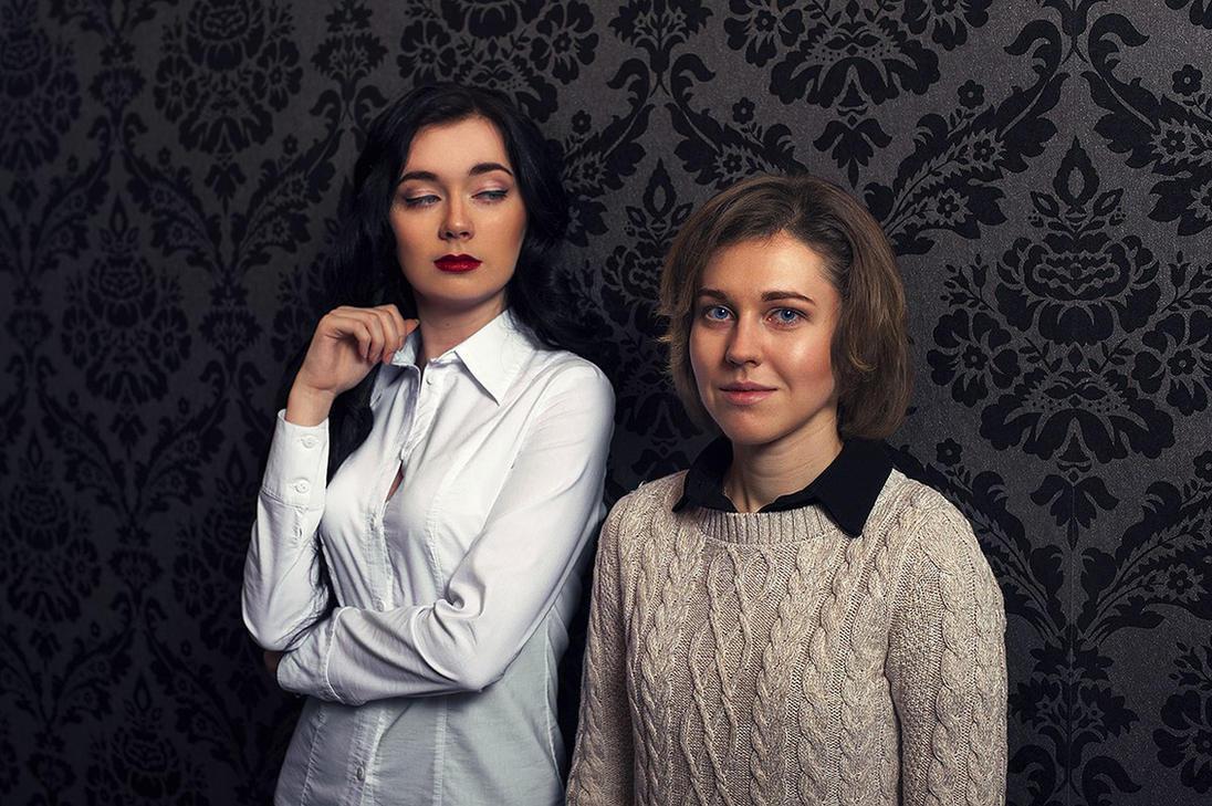 Two on 221B Baker Street by NellieSchwarz