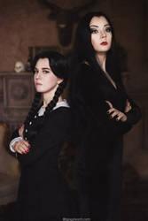 Addams Family by NellieSchwarz