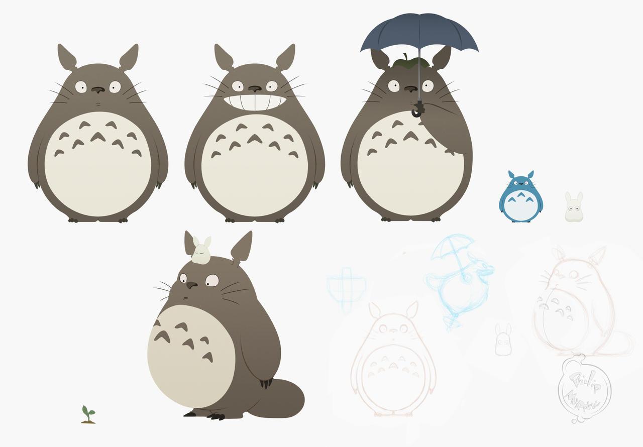 Totoro by Phil-Crash-Murphy