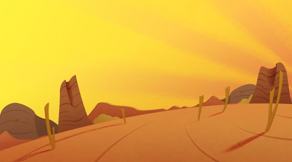 Looney tunes desert background - photo#20