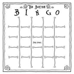 Tim Burton Bingo