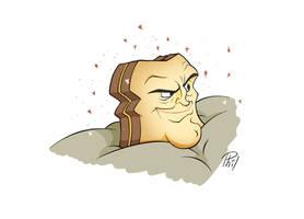 Powdered Toast Man by Phil-Crash-Murphy