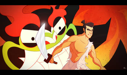 Samurai Jack by Phil-Crash-Murphy
