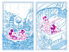 Disney Sketches by Phil-Crash-Murphy