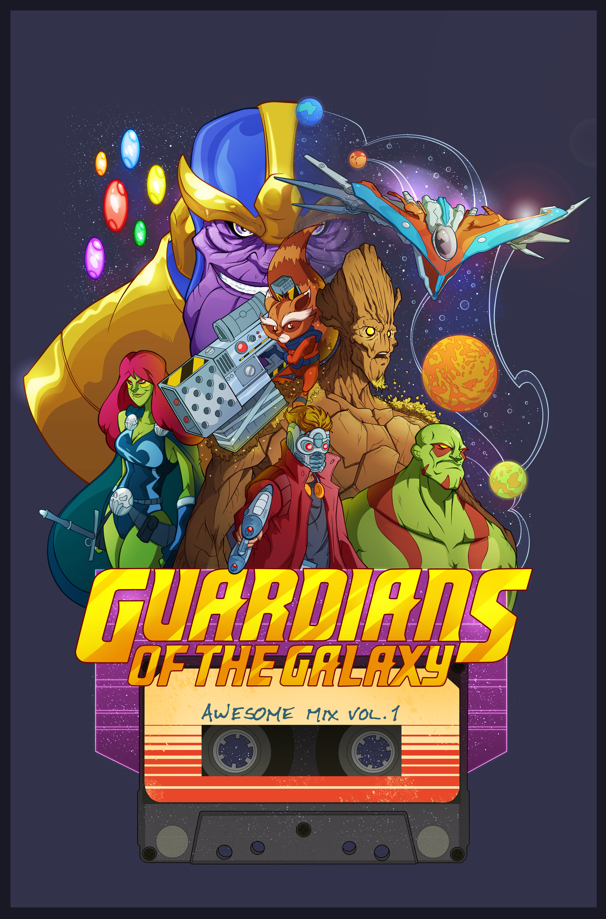 Guardians of the Galaxy col