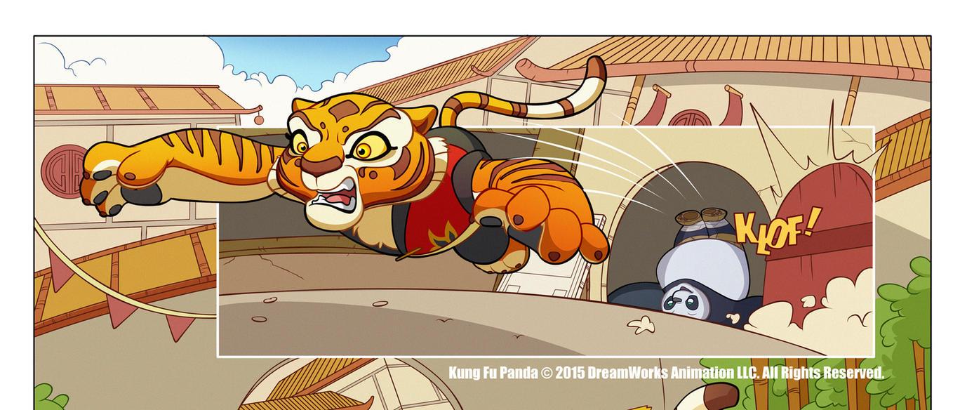 Kung Fu Panda #2 by Phil-Crash-Murphy