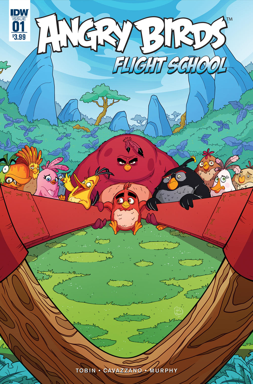 Angry Birds Flight School Cover 1