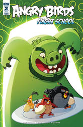 Angry Birds Flight School Cover 2