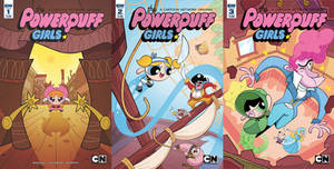 Powerpuff Girls: The Time Tie Covers 1-3