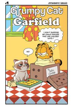 Grumpy Cat Garfield  #1 Cover