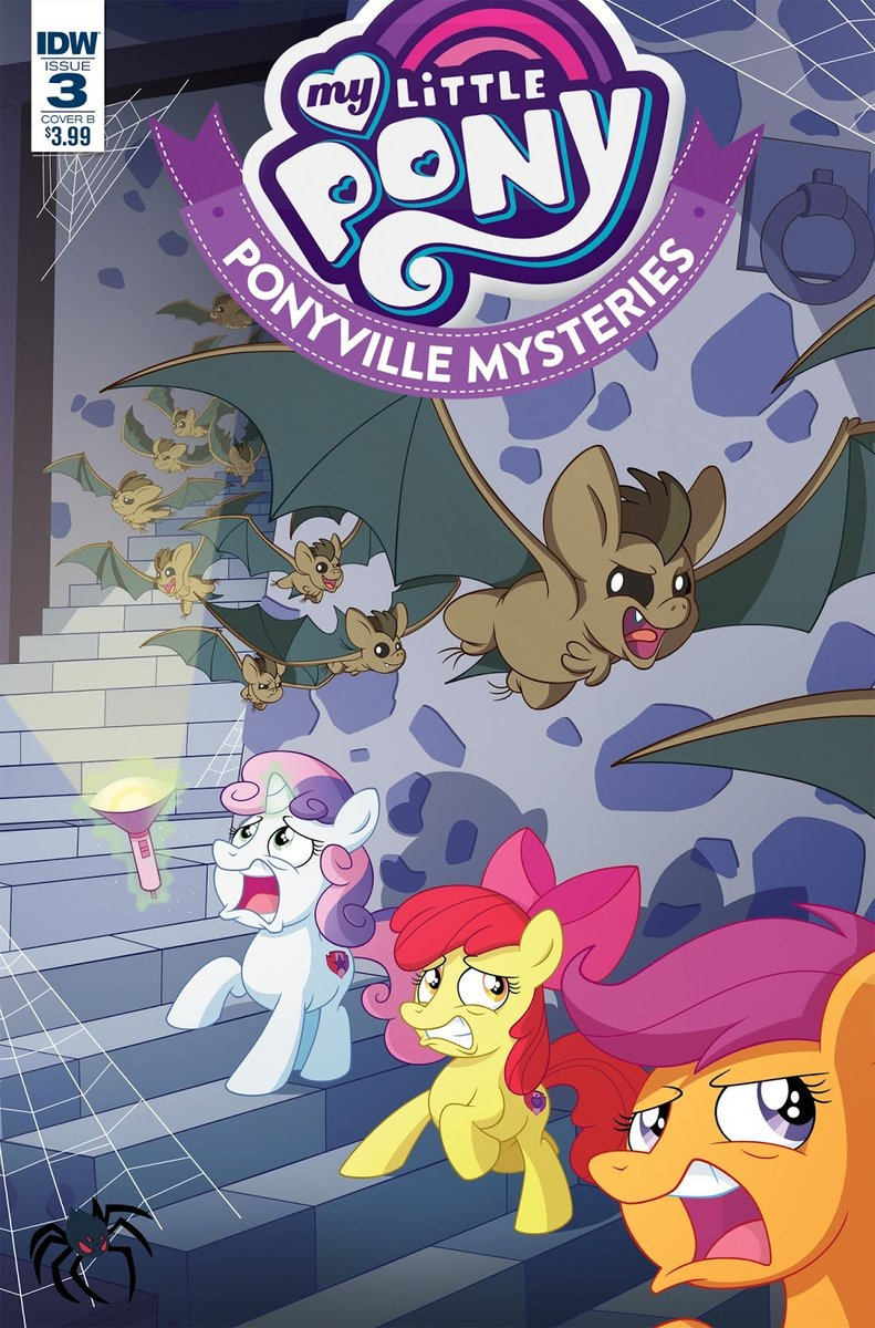 My Little Pony Ponyville Mysteries #3 Cover by Phil-Crash-Murphy