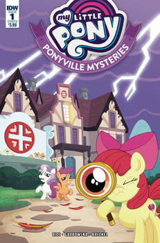 My Little Pony Ponyville Mysteries #1 Cover